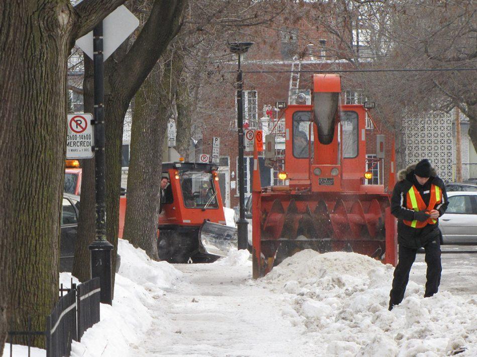 Services de déneigement arrondissement de Montréal